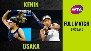 Sofia Kenin vs. Naomi Osaka | Full Match | 2020 Brisbane Round of 16