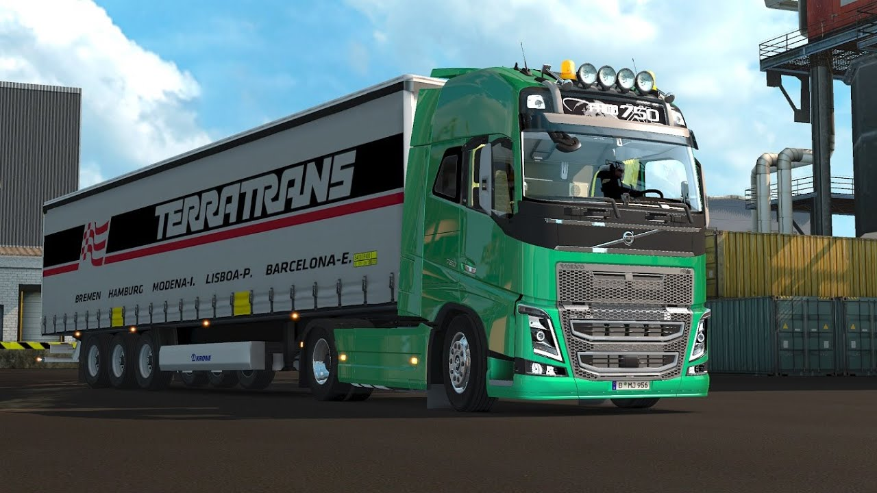 Volvo Fh Stock Sound V2 0 1 23 X 1 25 X Mod For Ets 2