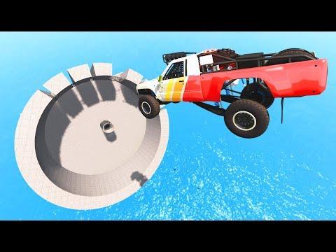BeamNG DRIVE - Impossible Car Stunts #10 | CrashTherapy