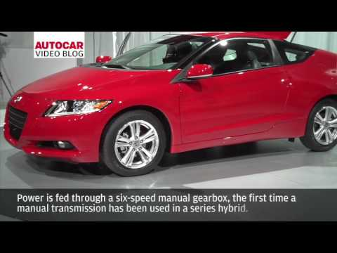 Detroit Motor Show: Honda CR-Z by autocar.co.uk