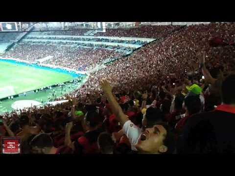 """""""Torcida do Flamengo canta alto a Sequência de Sambas contra o Gremio - Libertadores 2019"""" Barra: Nação 12 • Club: Flamengo"""