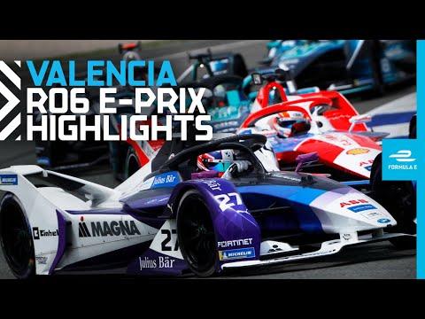 フォーミュラE バレンシア レースハイライト動画