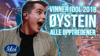 IDOLS NORWAY WINNER ØYSTEIN HEGVIK - ALL PERFORMANCES   Idols Norway 2018