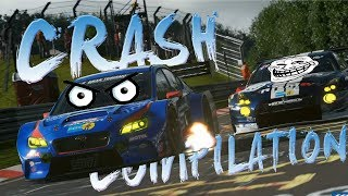 GT SPORT - Crash compilation. (Reckless Drivers, crashes and touches) #1