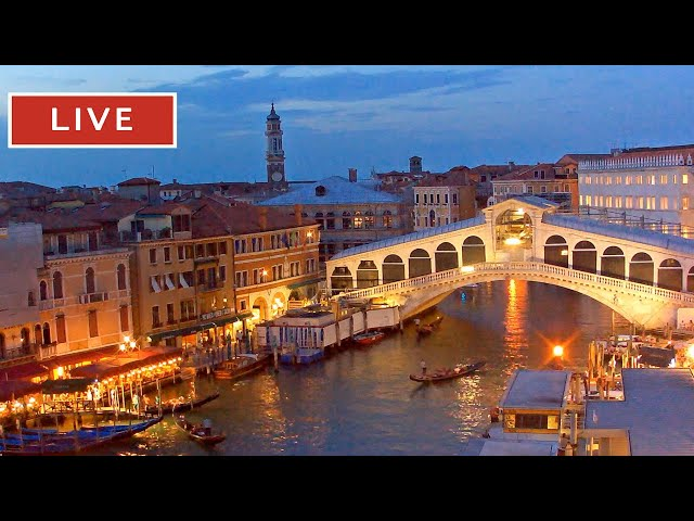 Live Webcam Rialto Bridge, Venice
