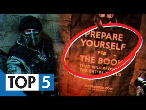 TOP 5 - Easter eggů z her Metro 2033 a Last light