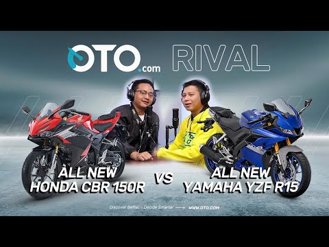 OTO Rival | All New Honda CBR150R vs All New Yamaha YZF R15, Duo Seksi