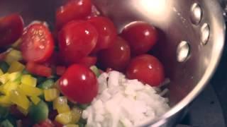 Pimientos rellenos de carne picada y queso Le Gruyère AOP Video