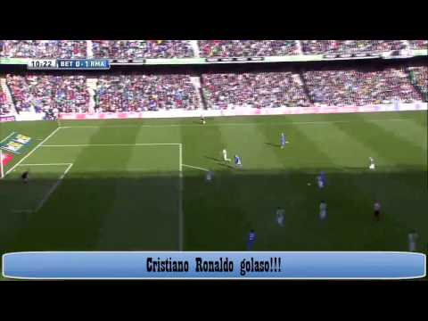 Betis vs Real Madrid 0-5 Cristiano Ronaldo amazing goal (HD)