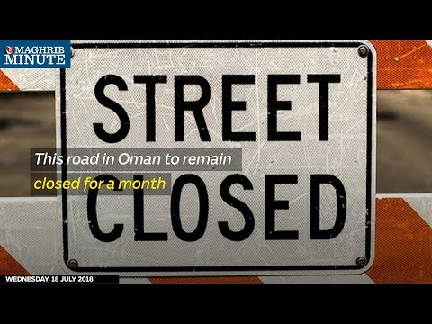 This road in Oman to remain closed for a month
