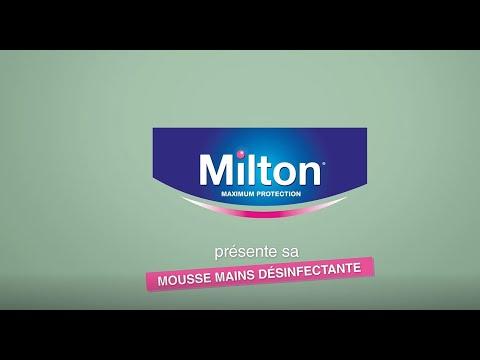 Milton Mousse Désinfectante Mains Fl/50ml