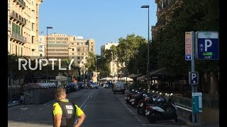 LIVE: Hostage situation in Barcelona after van rams into crowd on Las Ramblas – aftermath