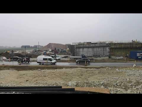 Prace przy obiekcie mostowym WS-15