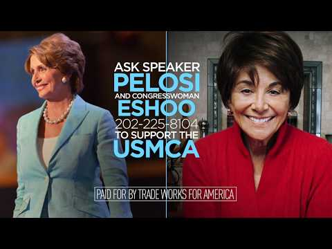 Trade Keeps California Growing. Tell Congresswoman Eshoo to Support the USMCA