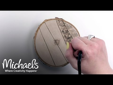 Download Woodburning Techniques | Extras: Crafts & Hobbies | Michaels