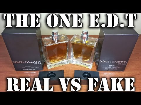 Fake fragrance - The One EdT by Dolce & Gabbana