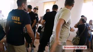 В Николаевском горсовете подрались зоозащитники и работники Центра защиты животных
