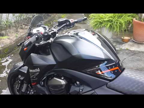 Kawasaki z800 tune by Rizoma