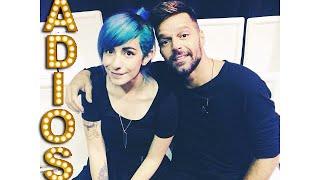 ➢ Sorpresa para mi Mamá: Conocimos a Ricky Martin :D #ADIOS - Miranda Ibañez