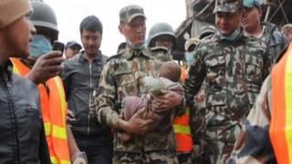 Удивительное спасение младенца в Непале