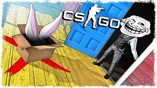 КРОЛЛЬ ТРОЛЬ vs ЛОВУШКА МАНЬЯКА В CS:GO!!!
