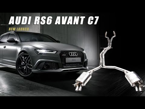 The iPE Exhaust for Audi RS6 C7 Avant