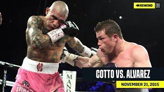 FULL FIGHT   Miguel Cotto vs. Canelo Álvarez (DAZN REWIND)