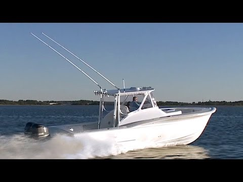 Jarrett Bay 34 Walkaround Express Review by Sport Fishing Magazine