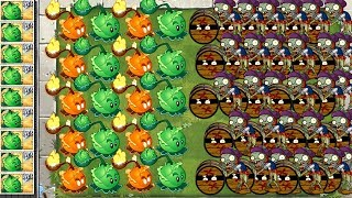 Plants vs Zombies 2 Massive Cabbage Pult vs Roller Zombies Attack in Plantas Contra Zombies 2