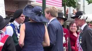 Bezoek koningspaar Oisterwijk