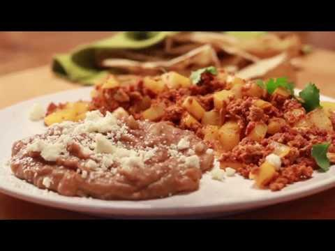 Chorizo, Potato & Egg Brunch Recipe