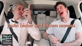 Shawn Mendes And Justin Bieber Carpool