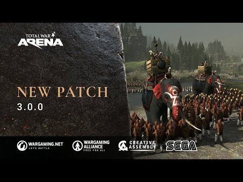 Total War: ARENA Patch 3.0.0 highlights thumbnail