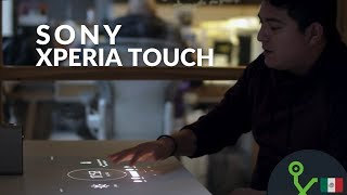 Xperia Touch, o cómo volver táctil cualquier superficie