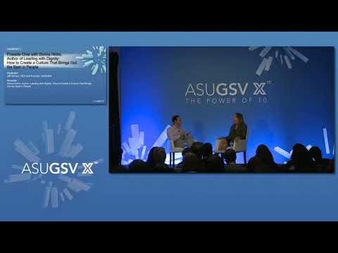 2019 ASU GSV Summit: Fireside Chat with Donna Hicks, Author of Leading with Dignity