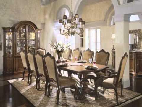 Мебель для столовой комнаты в официальном стиле
