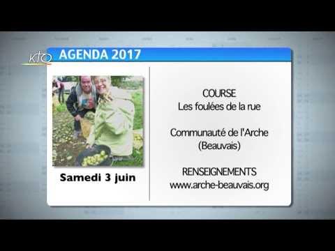 Agenda du 22 mai 2017