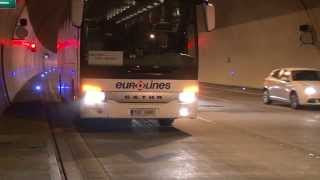 BESIP: Dálkový autobus - defekt v tunelu