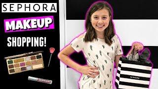 FIRST TIME MAKEUP SHOPPING AT SEPHORA VLOG | WHAT TO BUY | TEEN MAKEUP KIT - Video Youtube