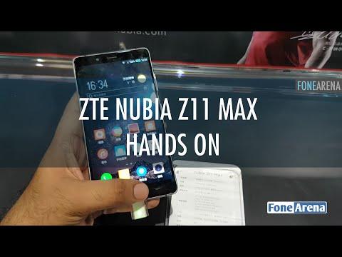 ZTE nubia Z11 Max Hands On