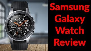 Samsung Galaxy Watch Review - Best Smartwatch I've Ever Owned - YouTube Tech Guy