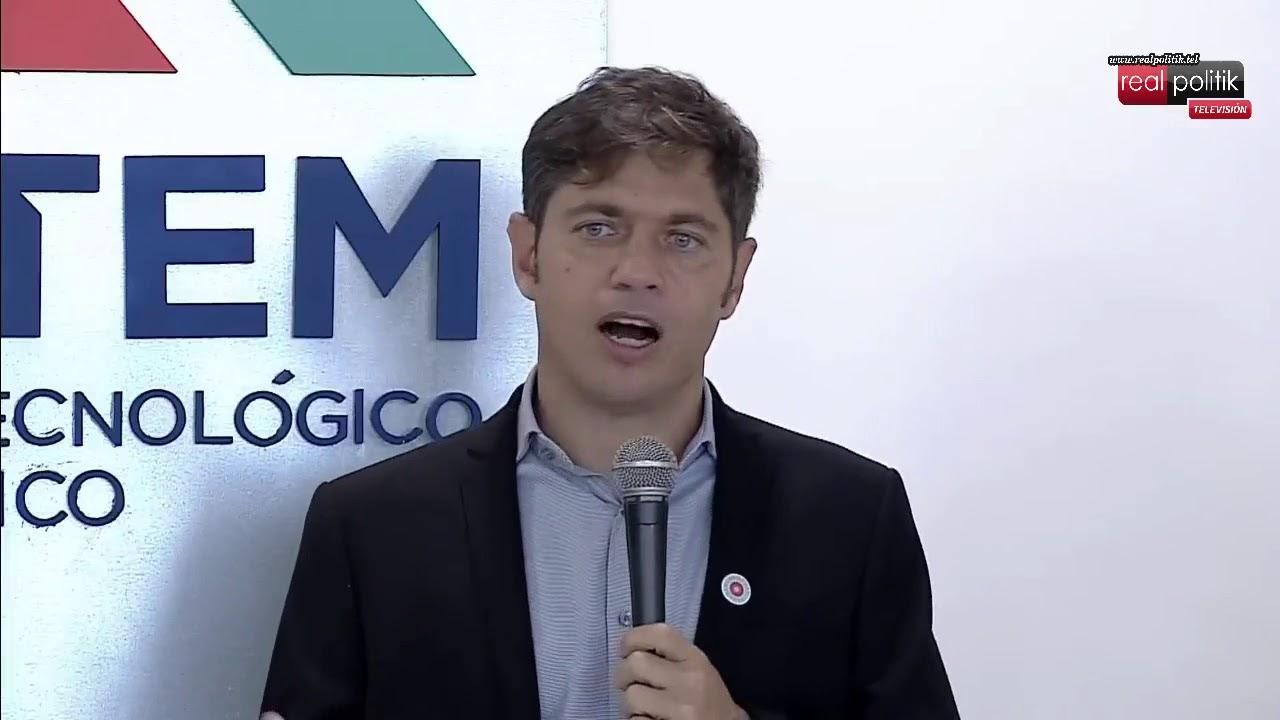 Florencio Varela: Kicillof anunció inversiones para el Centro Tecnológico Metalúrgico