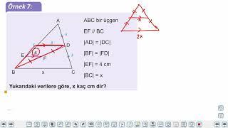 Eğitim Vadisi 9.Sınıf Matematik 26.Föy Üçgenlerde Eşlik ve Benzerlik Konu Anlatım Videoları