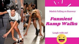 Funniest Ramp Walks   Models Falling on Runway