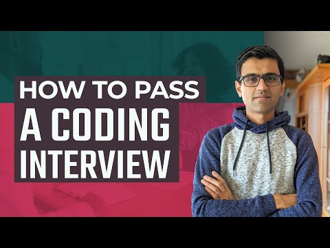 How to pass a coding interview | Coding interview preparation|Interview tips for software developer