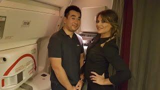 Air France B777-300/ER NEW BUSINESS CLASS Flight Paris to Dubai | Kholo.pk