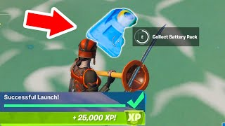 HOW TO LAUNCH The ANCIENT SHIP , ALL MISSING PARTS LOCATIONS Fortnite