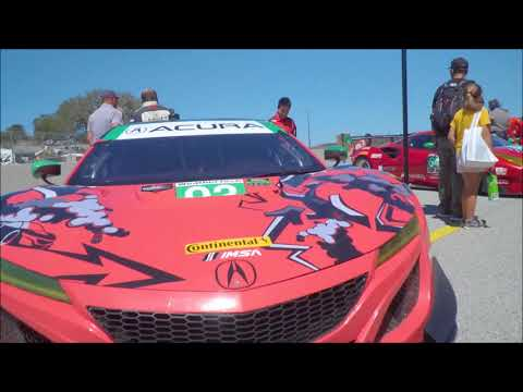2018 IMSA Laguna Seca Acura highlights