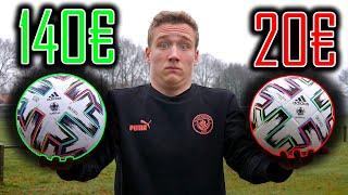 20€ Vs. 140€ FUßBALL!!! Merkt man die Unterschiede?? Adidas Euro 2020 Uniforia Test & Review