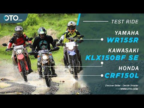 Jelajah Cipamingkis | Kawasaki KLX150BF SE x Honda CRF150L x Yamaha WR155R